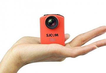 SJCam M20 Actioncam Maßstabaufnahme in Hand